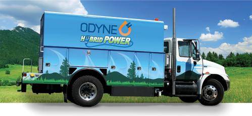 Odyne Compressor Truck