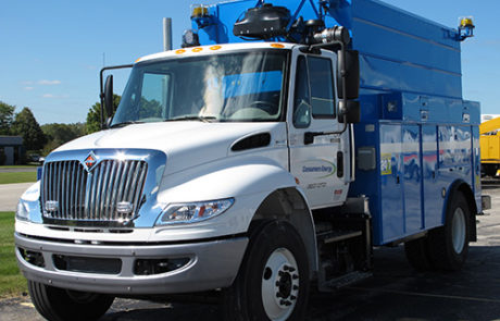 Odyne Consumers Energy Compressor Truck