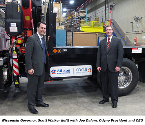WI Governor Scott Walker and Joe Dalum